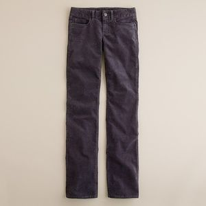 J. CREW Vintage Bootcut Cord Favorite Fit Gray 32S